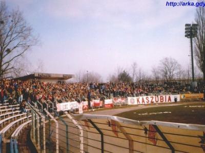 Arka Gdynia - Kaszubia Kościerzyna (Stadion GOSiR)