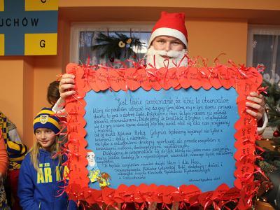 Akcja Żółto-Niebieski Mikołaj 2011